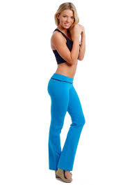 athletic works yoga pants womens juniors cute comfy yoga fitness long pants athletic work out