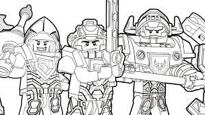 Small Picture NEXO KNIGHTS Heroes Formation 01 Colouring Page Activities