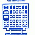 chevrolet cavalier rs drl 1996 fuse box block circuit breaker chevrolet cavalier z24 1990 engine main fuse box block circuit breaker diagram
