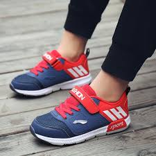 2019 Boys Fashion Light Running Shoes Outdoor Breathable Mesh ...