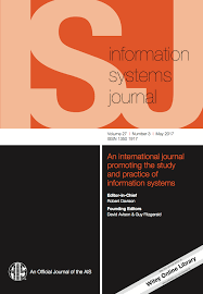 template for submissions to journal template for submissions to information systems journal latex