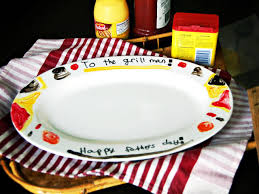 Hand-Painted Father\u0027s Day Grill Platter | HGTV