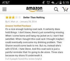 Amazon Coat Rack Gorgeous Coat Rack Funny Amazon Product Review