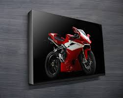 mv augusta f4cc on motorbike wall art australia with mv augusta f4cc motorbike wall art canvas prints australia