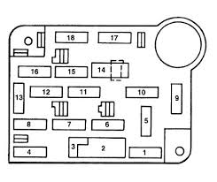 ford mustang iv (1993 2004) fuse box diagram auto genius 98 mustang under dash fuse diagram at 1996 Ford Mustang Fuse Box Diagram