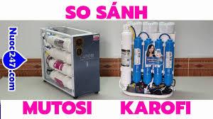 So sánh Karofi Slim Ss038 vs Mutosi Mp371U Mp390U - Máy lọc nước để Gầm tủ  nào cho Gia đình Bạn 247✅ - YouTube