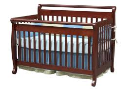 davinci emily  in  convertible baby crib in cherry w toddler