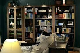 black bookcase with glass doors bookshelves billy bookshelf inspiring awesome in