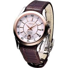 seiko snq126 snq126p1 mens premier perpetual calendar rose gold seiko snq126 snq126p1 mens premier perpetual calendar rose gold leather band watch
