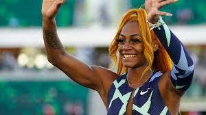 Star-Sprinterin Sha'Carri Richardson ...