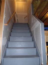 basement stairs ideas. Basement Stairs. Unique These Unfinished Stairs Are Sturdy And Have The Potential To Be Ideas O