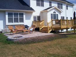 fine patios deck and patio design with built in fire pit hawthorn woods il throughout decks and patios t
