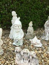 garden ornaments great project x 6 gnome s statues need some tlc
