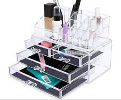 image is loading drawer acrylic makeup jewellery cosmetic storage organiser holder