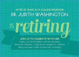 Retirement Celebration Invitation Template Retirement Party Announcement Template Free Admirable Retirement