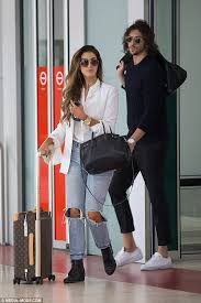 We put delta goodrem in the same room as her biggest fan and worked out who knew delta better. Delta Goodrem And Boyfriend Matthew Copley Jet Into Melbourne Daily Mail Online