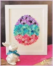 diy easter egg on art craft