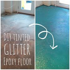 diy turquoise glitter floor lola tangled retro whimsy home tangled and turquoise