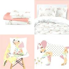 solid pink toddler bed comforter girl sets