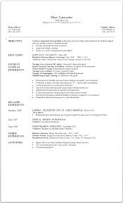 new grad nursing resume clinical experience free nursing resume examples new grad new nurse graduate nursing