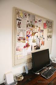 cork board ideas for office. painters dropcloth from the hardware bulletin board tacks u003d awesome cork ideas for office t