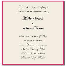 Sample Of Wedding Invatation Samples Of Wedding Invitation Cards Wordings Cityroller Info