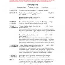 Objective For Resume For Nursing Nurse Objective Resume Related