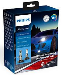 <b>Philips X</b>-<b>tremeUltinon</b> LED gen2 H4 (+250%) 5800K (2 шт ...