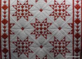 red and white quilts patterns | back i did use red thread in the ... & red and white quilts patterns | back i did use red thread in the bobbin for Adamdwight.com