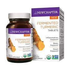 new chapter fermented turmeric 96 tablets