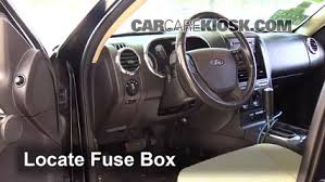 interior fuse box location 2007 2010 ford explorer sport trac 2007 Ford Sport Trac Fuse Box Location interior fuse box location 2007 2010 ford explorer sport trac fuse box location on ford 2007 sport trac