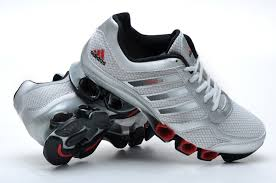 adidas running shoes for men. adidas bounce men running shoes silver black red for i