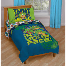 nickelodeon teenage mutant ninja turtles 4 piece toddler bedding set com
