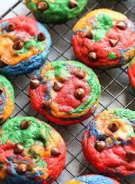 Rainbow Cupcakes Food Coloring Chart Ofgodanddice Com