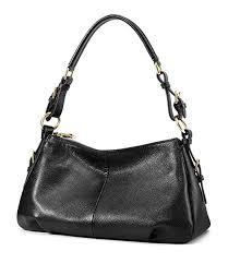 Amazon.com: Kattee Soft <b>Vintage Genuine Leather Purse</b> Bag for ...