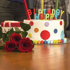Send Birthday Special Cake With Roses Online Free Delivery Gift