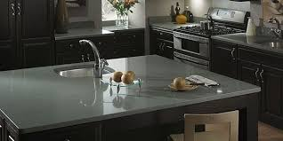 grey countertops black kitchen cabinets kitchen design ideas