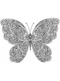 Butterfly coloring pages are fun and fantastic! Free Butterfly Coloring Pages For Adults Printable To Download Butterfly Coloring Pages