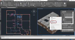 autocad architecture features project navigator check in project navigator check in when you check in a drawing it saves automatically and notifies