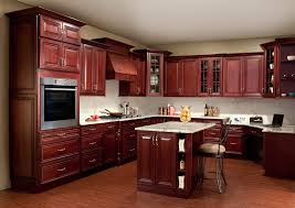 Delighful Painting Cherry Kitchen Cabinets White Color On Decor
