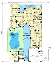 Small Picture Plan 33532EB Exciting Courtyard House Plan Courtyard house
