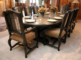 oval dining table 1