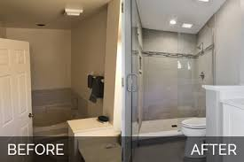 bathroom remodel pictures before and after. Charles \u0026 Cindy\u0027s Master Bathroom Before After Pictures   Home Remodeling Contractors Sebring Design Build Remodel And C