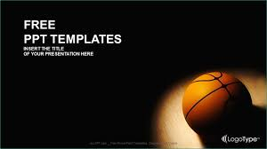 Basketball Powerpoint Template Free Basket Ball Sports Powerpoint Templates Impressive Basketball