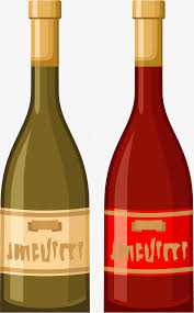 small and colorful bottles little fresh bottle simple bottle watercolor png and vector