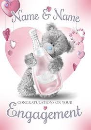 Engagement Congratulations Cards Funky Pigeon
