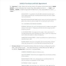 Car Purchase Contract – Livingaudio