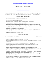 Good Resume Key Skills For Samp Peppapp