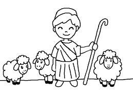 Più Adatto Per I Bambini Disegni Pastori Presepe Da Colorare