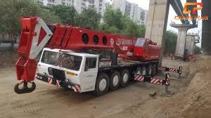 Krupp Kmk 6200 Load Chart Luna Gt 160 160 Tons Crane For Hire In Delhi India
